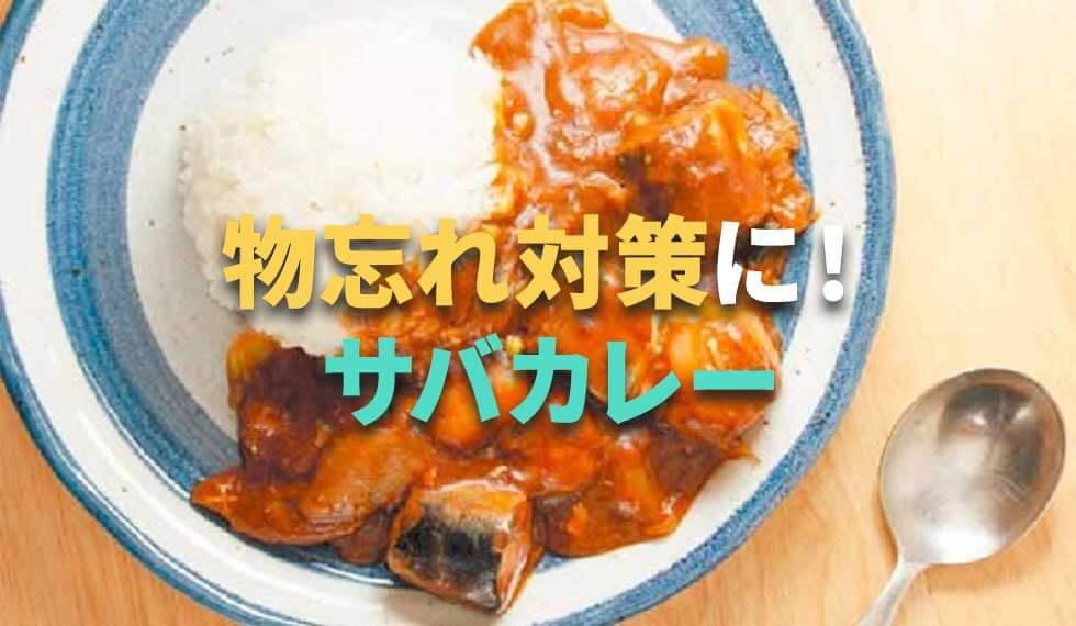 脳に良い食材であたまいきいき簡単レシピ ~DHAとクルクミンで物忘れ対策!サバカレー~