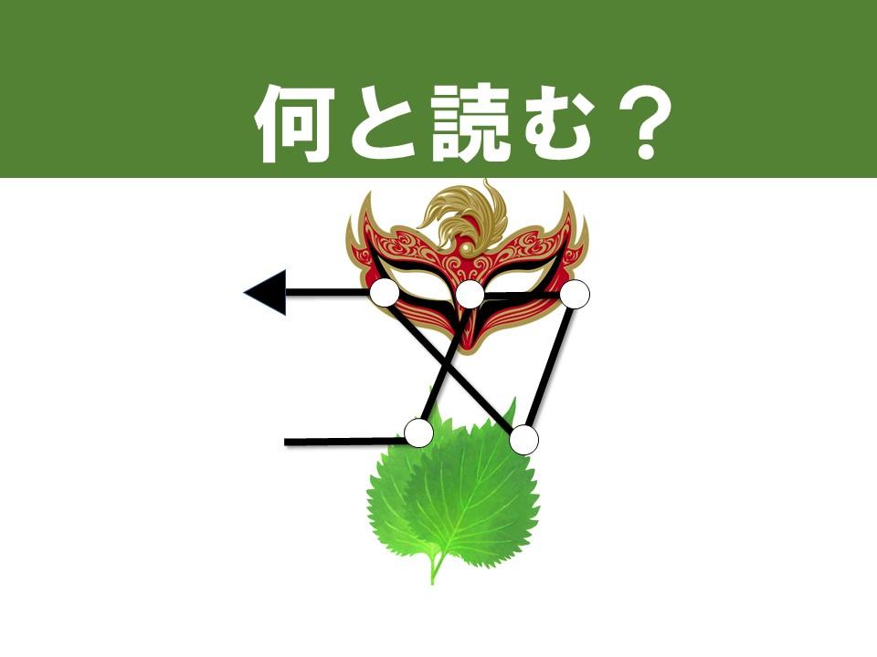 脳トレクイズ 漢字3選